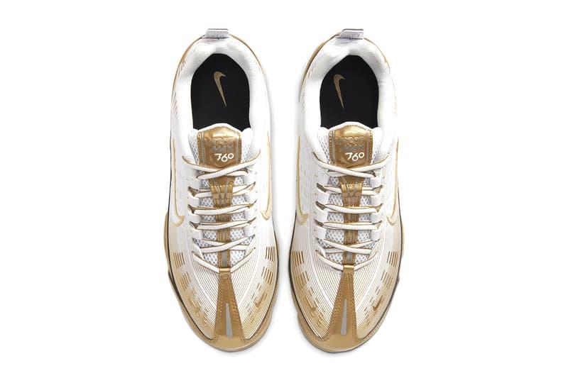 nike air vapormax 360 metallic gold reflect silver white black CK9671-101 shoes sneakers kicks