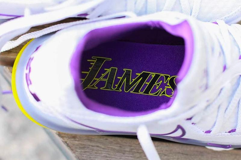 Nike LeBron 17 Low Lakers Home Release Info CD5007-102 atmos tokyo