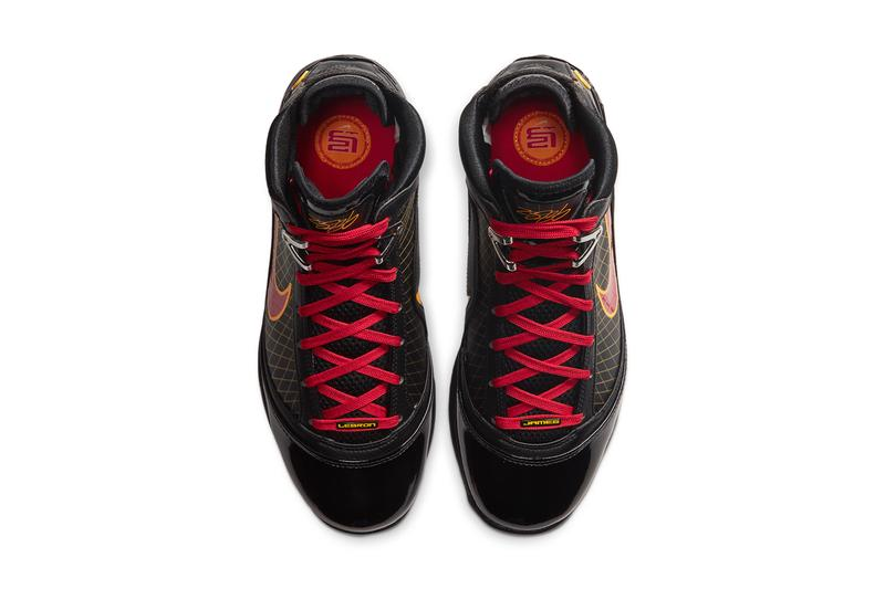 nike lebron 7 fairfax high school pe player edition black varsity red maize CU5646 001 release date info photos price