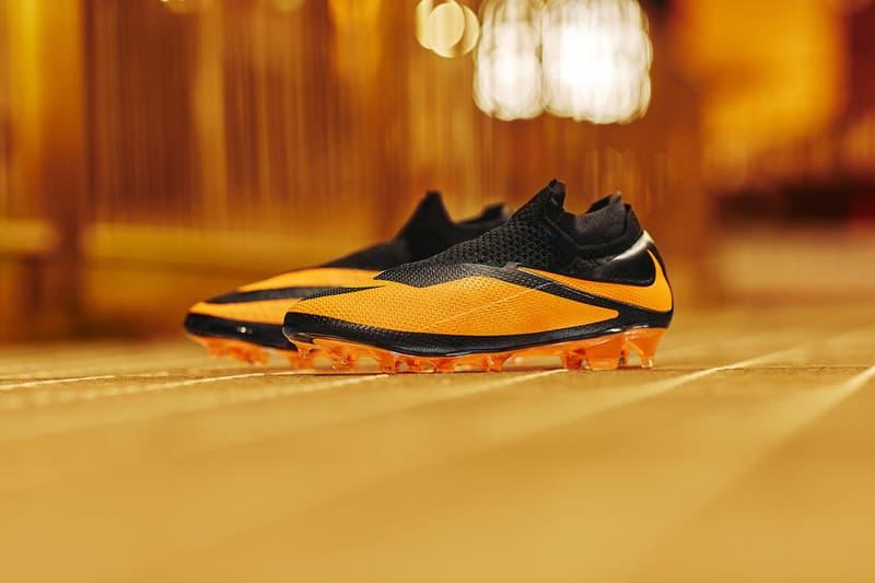 Nike football phantom vsn dna future 2 hypervenom black bright citrus orange metallic silver release information buy cop purchase CD4161-008