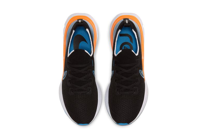 nike react infinity run black laser orange white university blue CD4371 007 release date info photos price