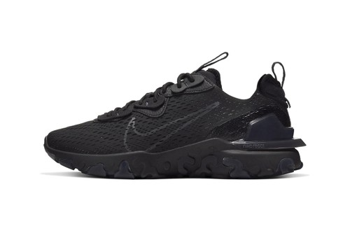 """Nike Unveils React Vision in Stealthy """"Triple Black"""""""
