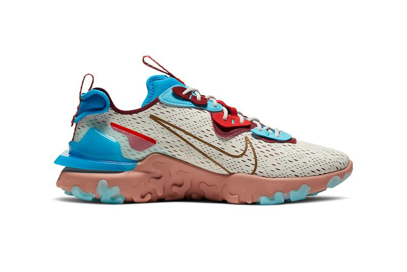 nike d ms x react vision desert oasis light bone terra blush photo blue release date info photos price