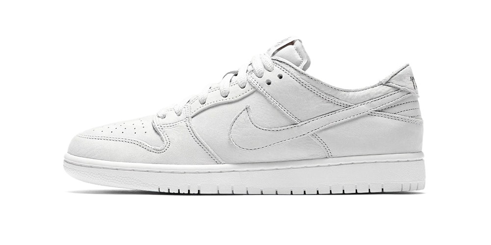 white sb dunks