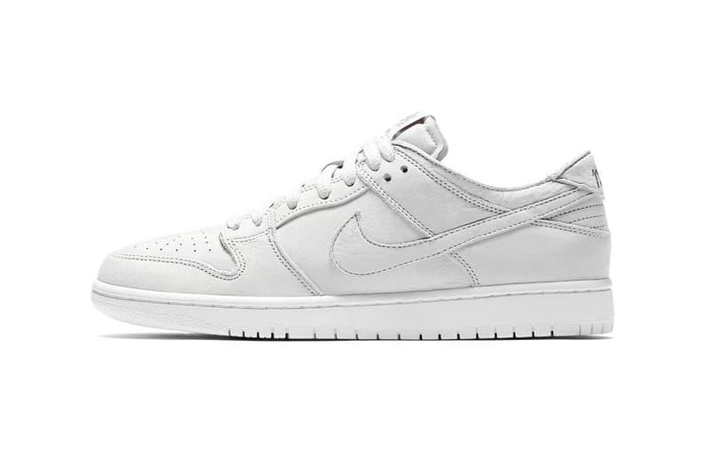 Nike SB Dunk Low Pro Muslin First Look Release Info bq6817-100 Buy Price