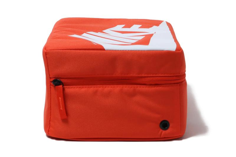 nike sportswear shoebox bag red white ba6149 810 release date info photos price shoe sneakers box orange