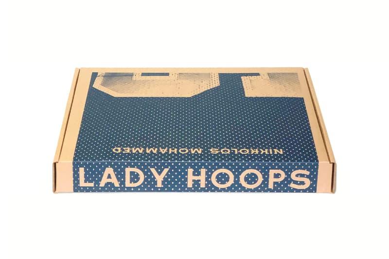 "Nikkolos Mohammed ""Lady Hoops Box Set"" Nick Van Exel Los Angeles Lakers Boston Garden Floor Arena Risographs Prints Charcoal"