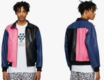 Noon Goons Plays Up Biker References With Vibrant Colorblocked Jacket