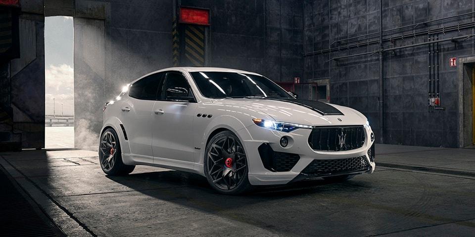 NOVITEC Unveils ESTESO Maserati Levante With Huge Widebody Kit & 624 HP