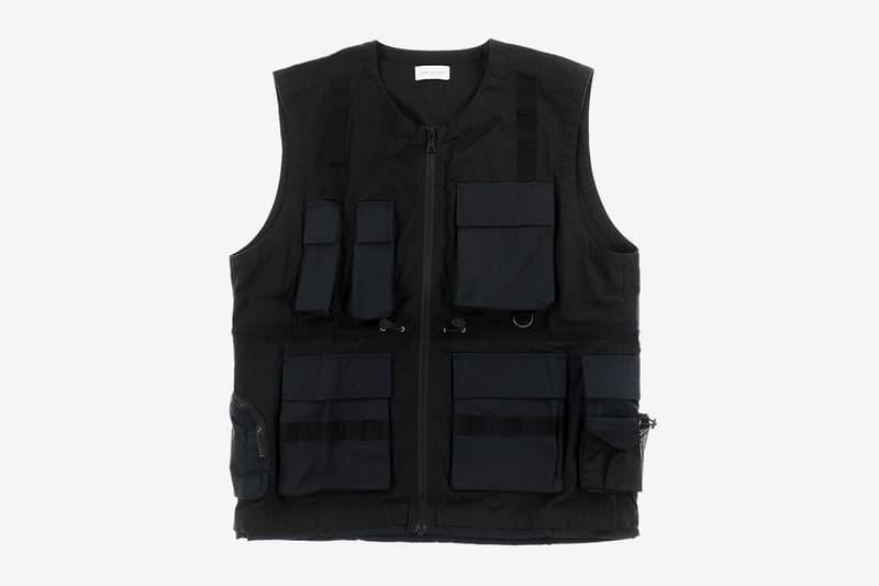 NUBIAN John Elliott Miramar Tactical Vest Exclusive Shibuya PARCO Release Info Buy Price Black Spring Summer 2020