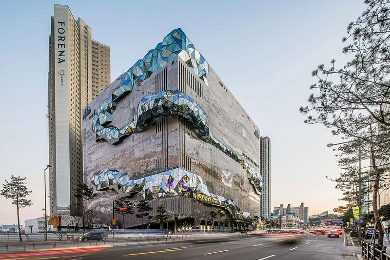 oma gallerie gwanggyo south korea architecture design buildings structures