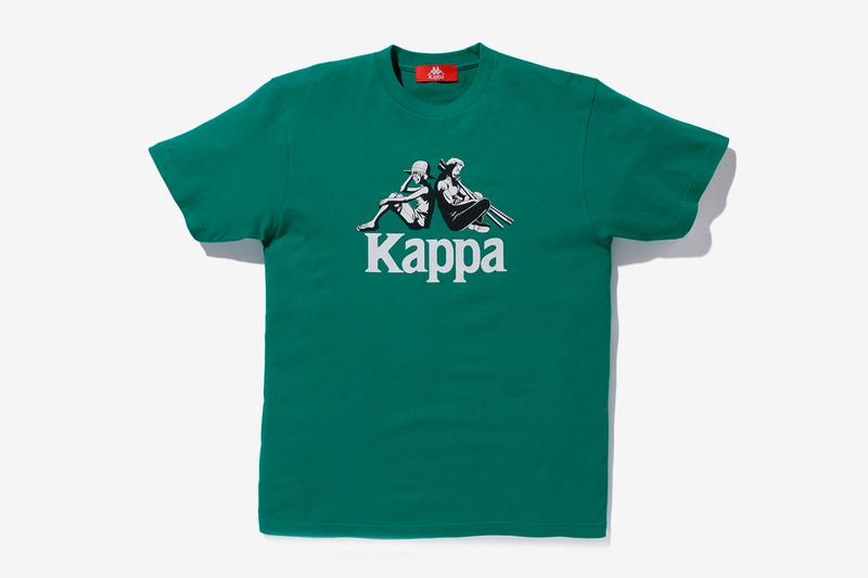 One Piece Kappa Capsule Collection Release Info Buy Price Hoodie T-shirt