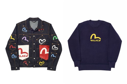 Here's Everything Dropping From the Palace x EVISU Collaboration
