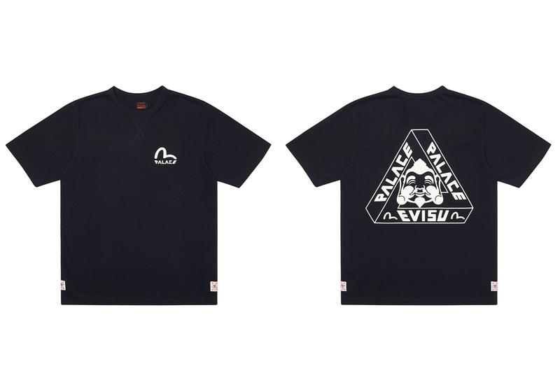 Palace x EVISU Spring 2020 Collaboration Drop List collection release date info buy april 3 ss20 skateboards
