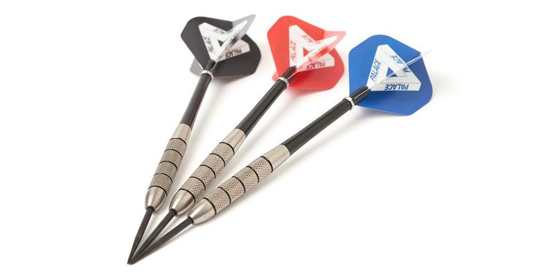 palace skateboards winmau dartboard video clip bobby george darts release date info photos price
