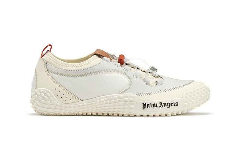 palm angels deconstructed slip on low top sneaker