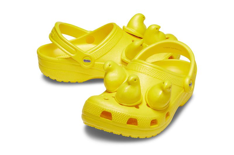 PEEPS Crocs Classic Clog Release info Date Buy Price Blue Yellow Pink