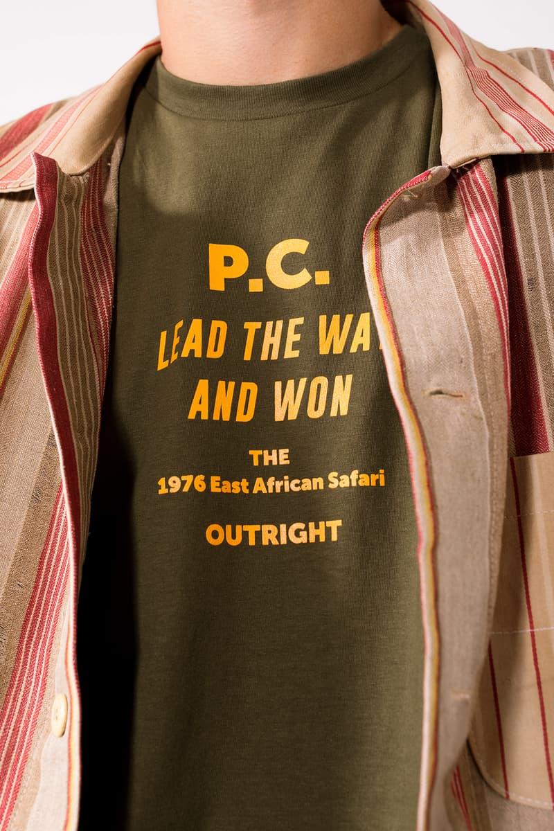 Period Correct Safari Collection Lookbook east african racing motorsports