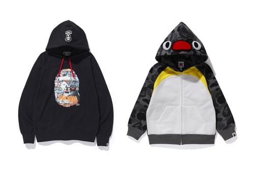 BAPE Taps 'Pingu' for Latest Collaborative Collection
