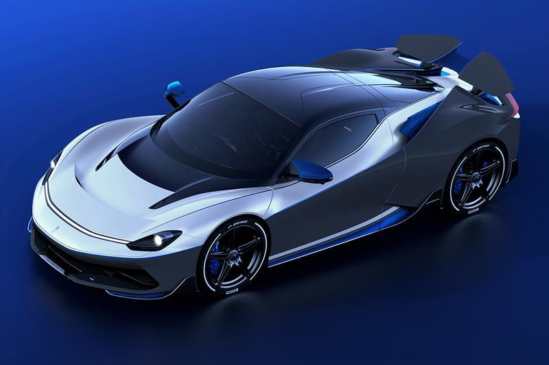 Pininfarina Battista Anniversario Electric Hypercar Official First Look Unveiled Geneva International Motor Show Italy Coachbuilt Automobili Automotive News Content Updates Supercar EV Limited Edition Five Copies €2.6 million EUR Lightweight