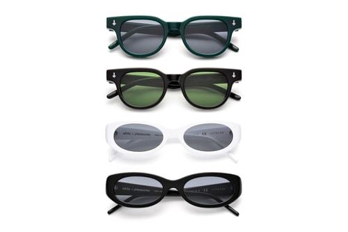 PLEASURES & AKILA Reunite For Sunglasses Capsule Collection