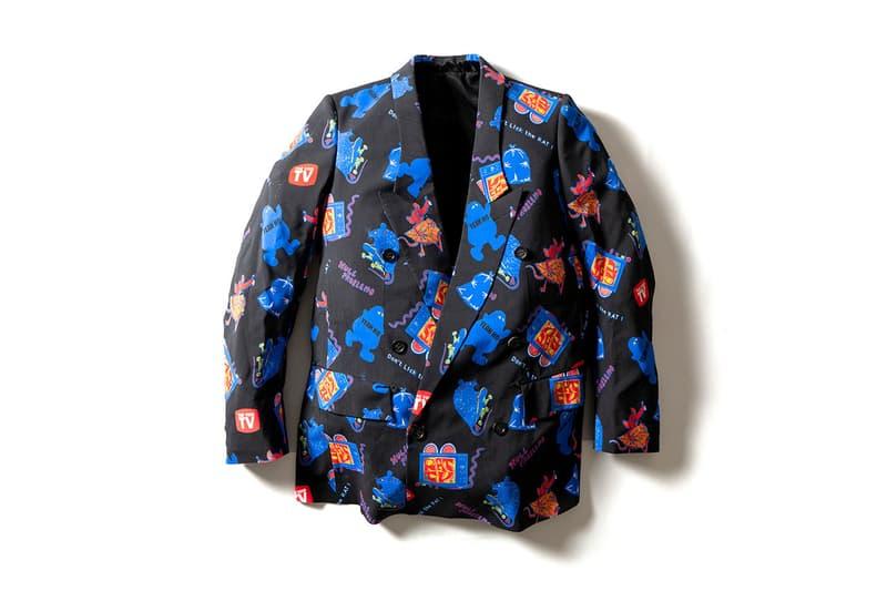 poggy NEEDLES TAKAHIROMIYASHITA TheSoloist. Maison Mihara Yasuhiro isetan shinjuku box pop up shop in collaboration collection sneakers tracksuit track pants jacket double breasted blazer motofumi kogi peter paquin rat graphic japan march 11 2020