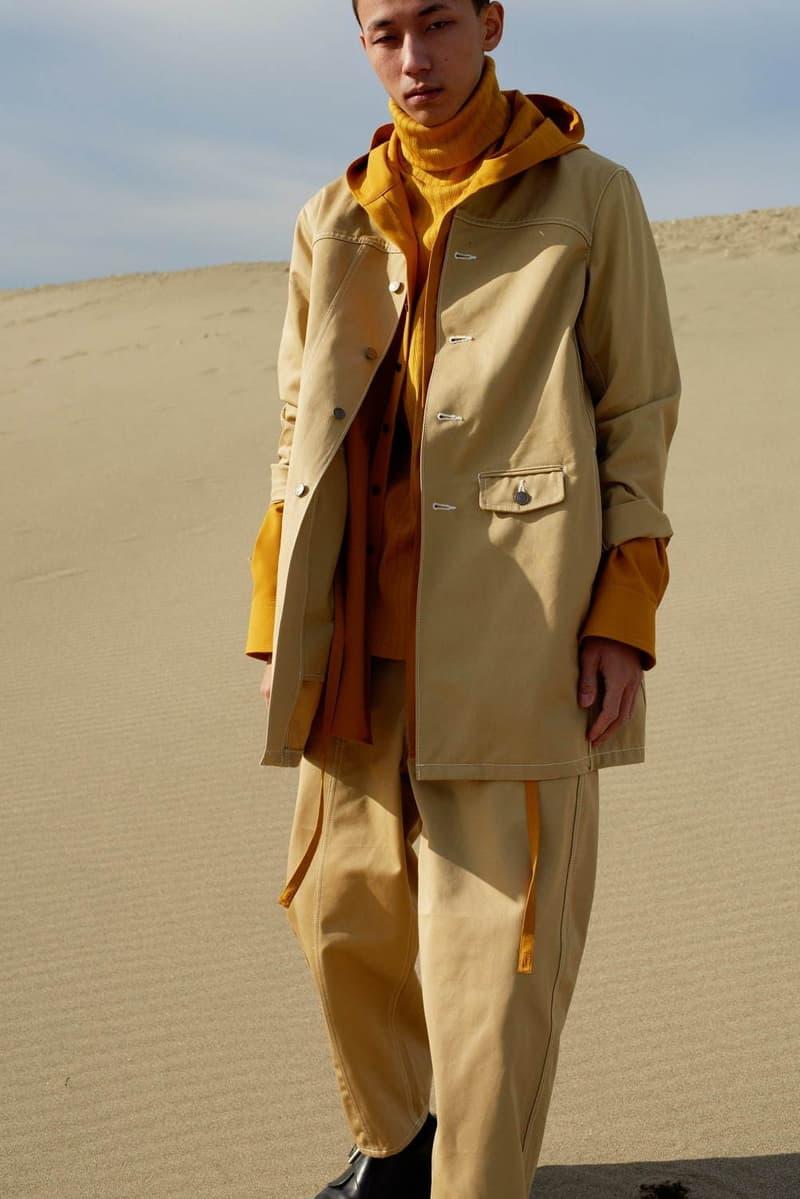 prasthana fall winter lookbook apparel technical fashion japanese garments styles
