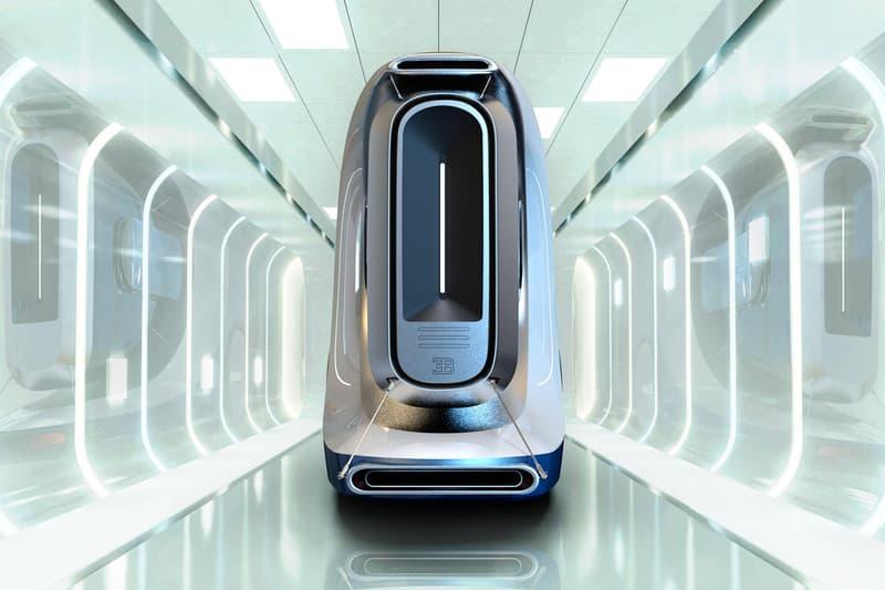 Prathyush Devadas Bugatti Hyper Truck Concept transportation cargo shipping futuristic electric vehicle