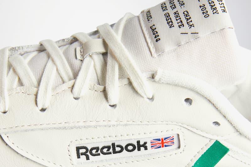 Reebok Club C 85 Vintage 35th Anniversary RFX1378 Green FX1379 Navy menswear streetwear shoes sneakers footwear kicks trainers runners court tennis spring summer 2020 collection