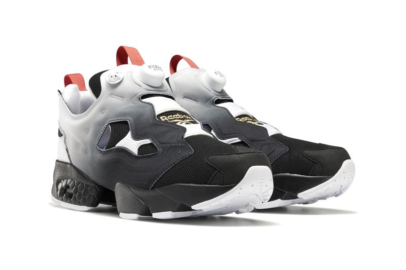 "Reebok Instapump Fury OG ""White/Humble Blue/Sterling Grey"" ""Black/White/Radiant Red"" Colorways Patriotic CW Footwear Sneaker Release Information Drop Date April Fools Day 1st Retro Fade Transitional Seasonal Spring Summer"