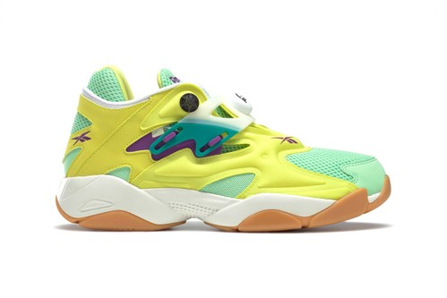 Reebok Drops 90s-Inspired Pump Court With Bold Neon Hues