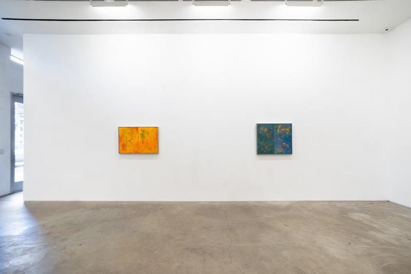 """Reginald Sylvester II James Fuentes Gallery Exhibition Abstract """"Light Paintings"""" """"Stampings"""""""