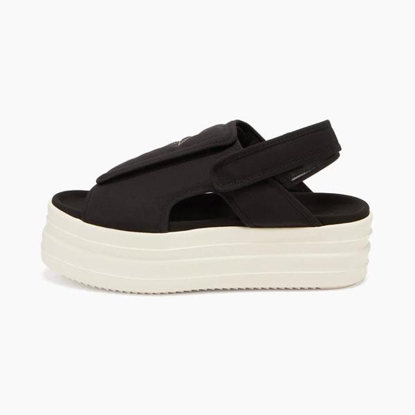 RICK OWENS DRKSHDW Double Bumper Canvas Sandals