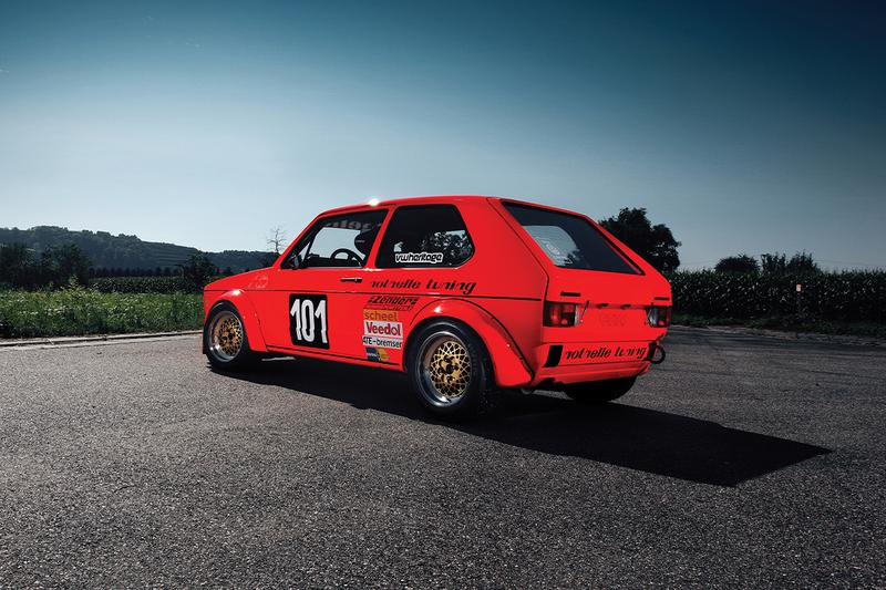 rm sothebys 1975 Volkswagen Golf Mk1 Group 2 racing first ever world hockenheimring grand prix winner