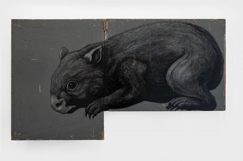roa annihilation exhibition backwoods gallery artworks paintings