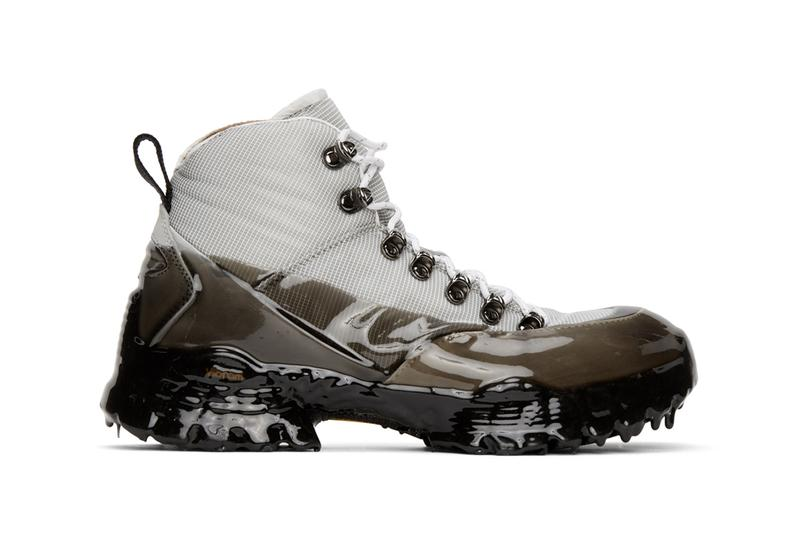 ROA Gray Andreas Hiking Boots shoes sneakers menswear footwear spring summer 2020 collection trainers runners trekking trail italian vibram megagrip technical weatherized
