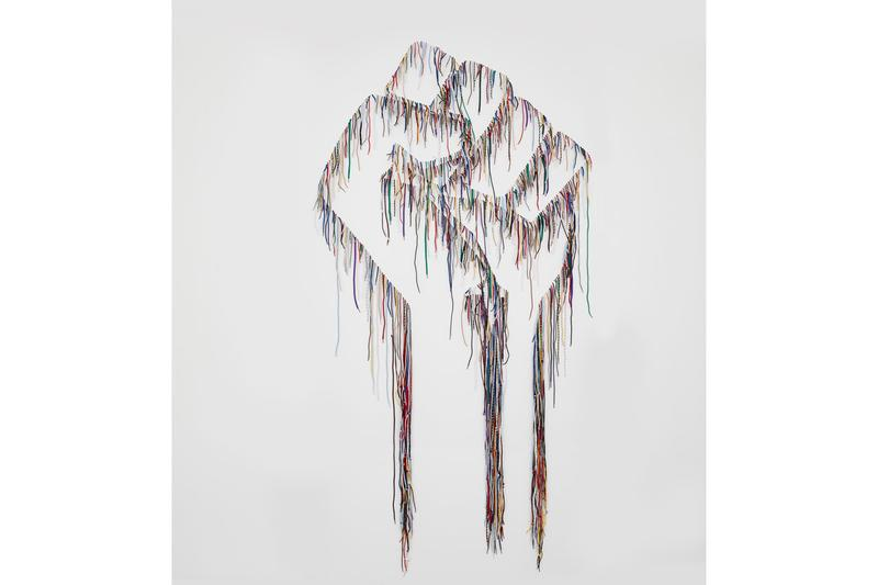 nari ward robin rhode power wall exhibition online lehmann maupin artworks installations sculptures conceptual art