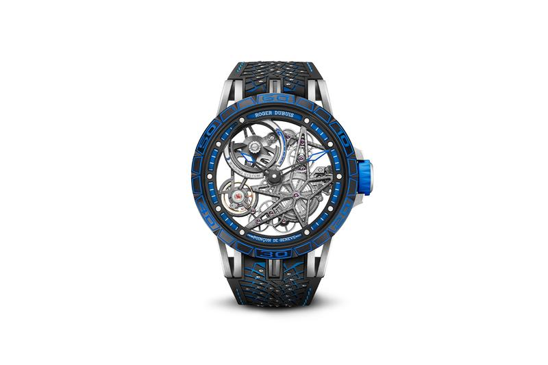 roger dubuis excalibur pirelli ice zero 2 racing tires performance watches swiss luxury timepieces accessories