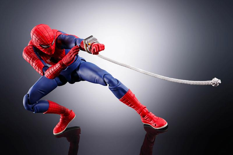 S.H.Figuarts TOEI Spider-Man Figure Release Japanese TV version Info Buy Price