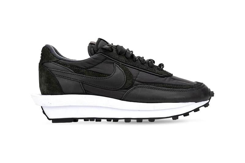 sacai Nike LDV Waffle White Nylon Black Nylon Release Date BV0073-101 BV0073-002 Buy Price Where LUISAVIAROMA