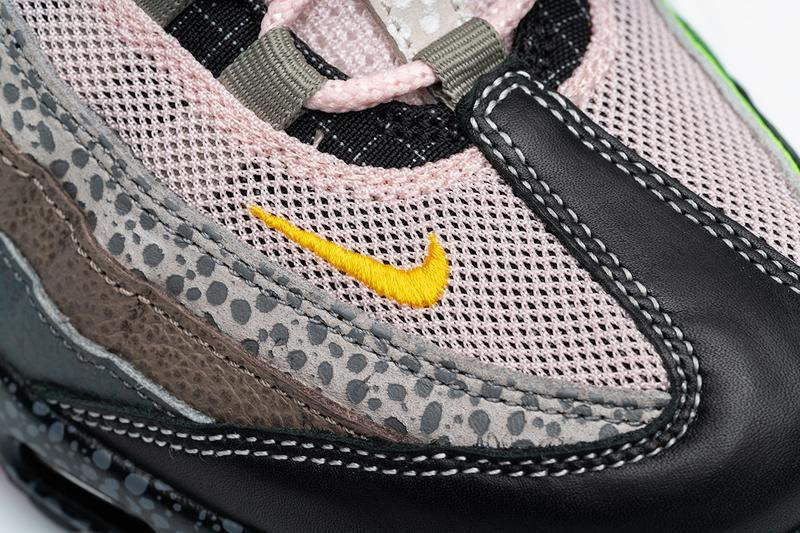 size? nike air max 95 2020 20 for 20 release information buy cop sneaker footwear trainer air max day pink neon blue yellow orange safari camouflage