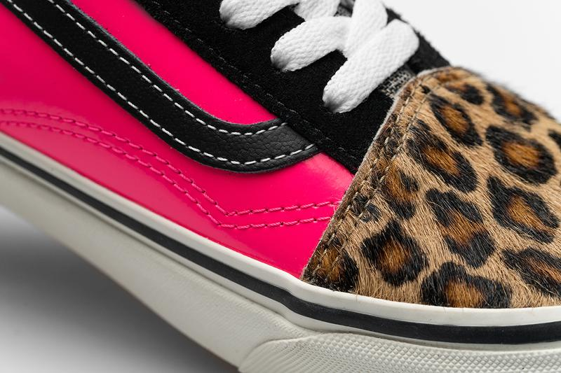 size? vans old skool english invasion release information sex pistols buy cop purchase tartan pony hair leopard print fluoro pink leather