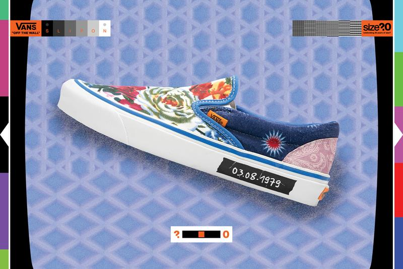 size vans slip on talking heads new wave paisley flowers prints release date info photos price