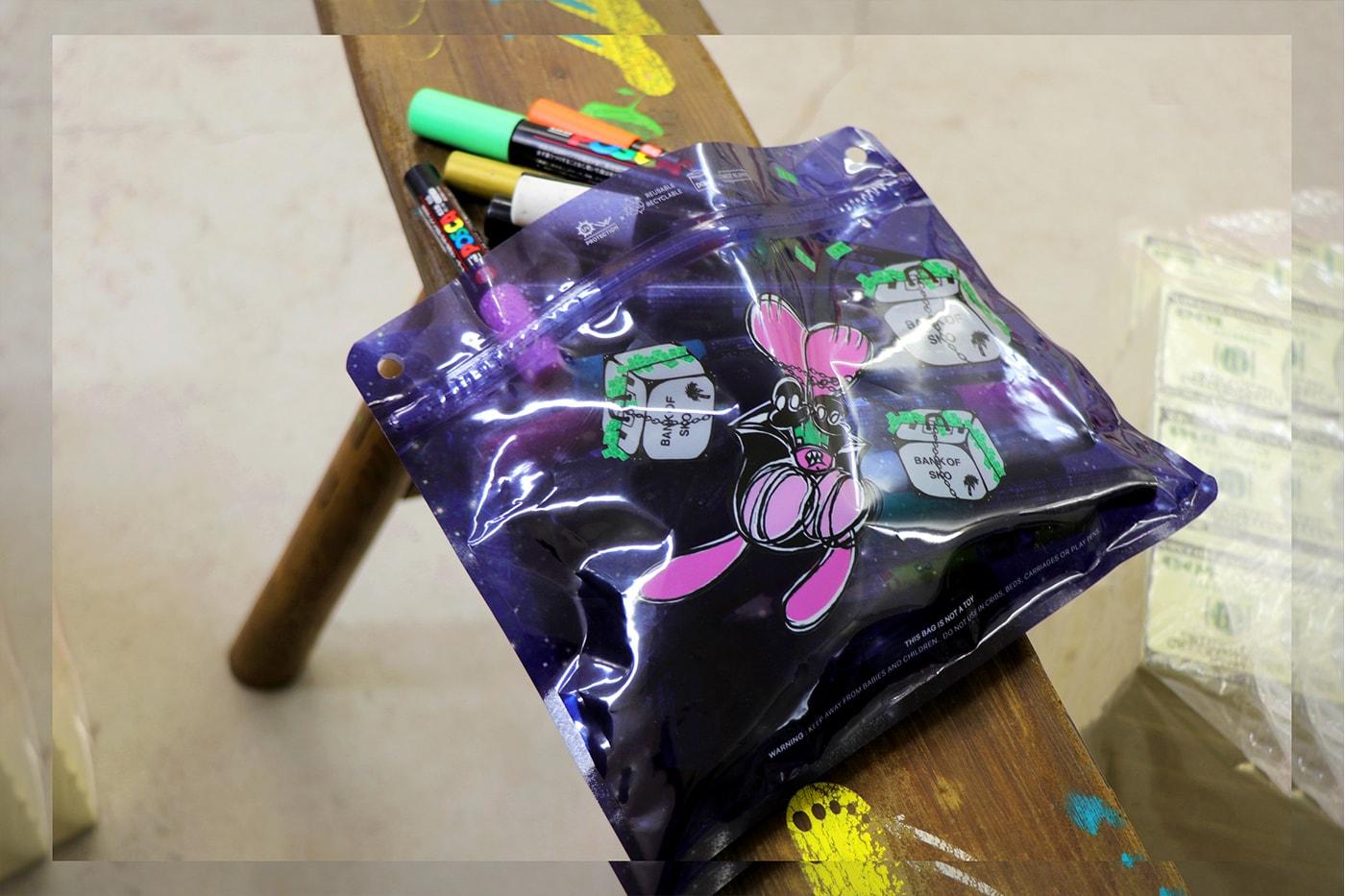 SKOLOCT Pake Release Info Japanese Zip Bag Isetan Shinjuku Harajuku
