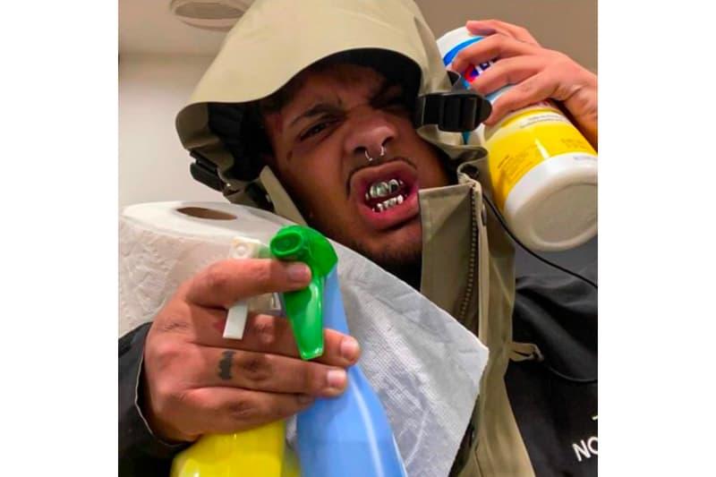 Smokepurpp Drops Off Coronavirus Diss Track listen FUCK CORONA U AINT STOPPING SHIT (EXCUSE ME) now single hip-hop rap novel coronavirus covid-19