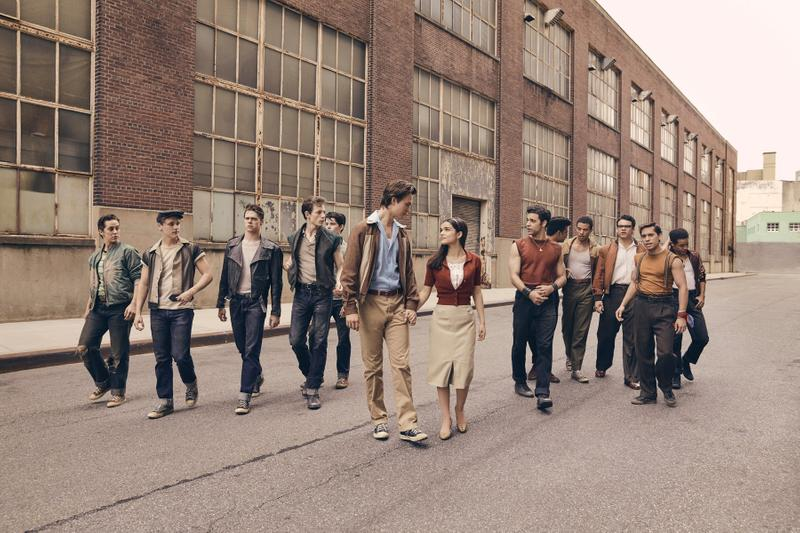 Steven Spielberg West Side Story First Look Photos Ansel Elgort Vanity Fair 2020