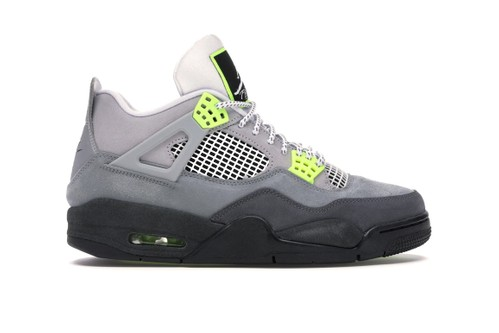 """StockX Is Carrying the Classic Air Max 95-Inspired Air Jordan 4 """"Neon"""""""