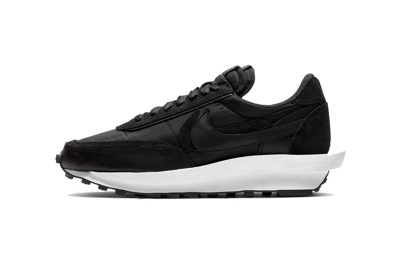 Nike LD Waffle sacai Nylon Black and