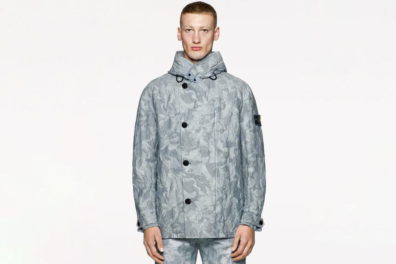 "Stone Island Spring/Summer 2020 ""Big Looms"" Camouflage Collection Flight Jackets Vests Hooded Jackets Trousers Caps Bucket Hats T-shirts"