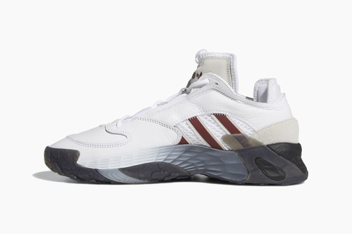 "adidas Streetball ""Cloud White/Collegiate Burgundy"""